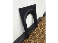 Cast Iron Fire Surround (black)