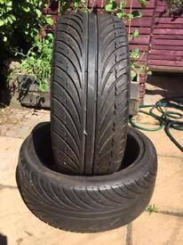 225/40/18 tyres nearly new