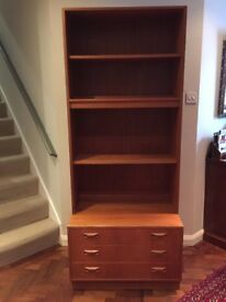 G Plan bookcase/ display unit