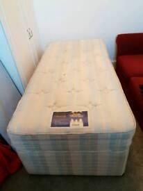 Silentnight 3 foot Divan Bed