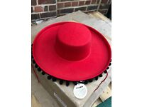 JOBLOT 400 x Spanish Flamenco hats hat clothing Wholesale stock dancing market shop stock halloween