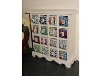Ceramic 16 Drawer Spice Chest
