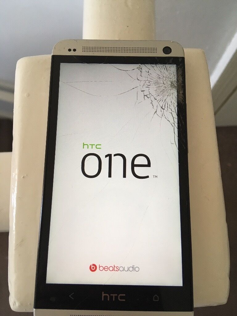Htc one m7 phonein Seaham, County DurhamGumtree - Here I have a sliver HTC one m7 with a cracked screen comes with charger bargain for the price £30 ono