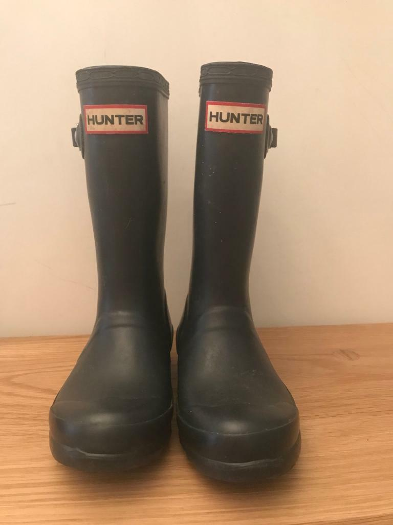 **SOLD** Kids Hunter wellies. Size UK 11 (EU 29)