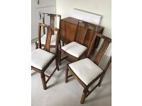 Lovely Sturdy Wood Folding Dining Room Table