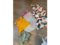 Age 2-3 girls clothes & pyjama bundle