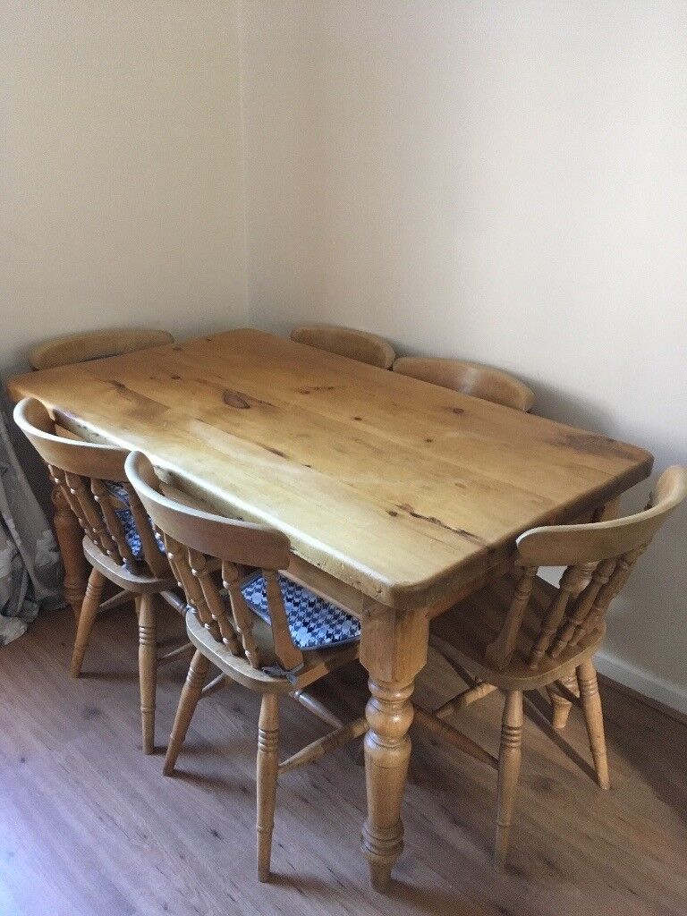 Pine Kitchen Chairs Gumtree