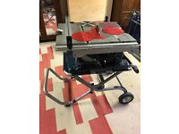 Bosch Professional GTS 10 XC with stand
