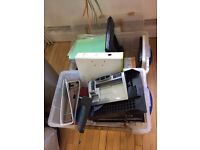 FREE TO TAKE - LEVER ARCH FILES / IN-TRAYS / LAPTOP STANDS