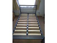 Julian Bowen Alpen Metal Bed Frame Small Double 120 cm 4ft
