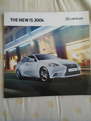 Lexus IS300h range brochure Feb 2013 Irish market