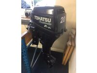 Tohatsu 20 hp Outboard Boat Engine