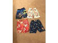 Boys boards shorts X 4