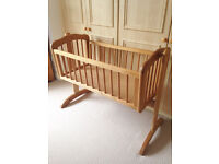 Mothercare Swinging Crib -(brand New) Never been used