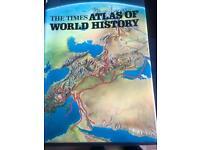 Atlas of world history book