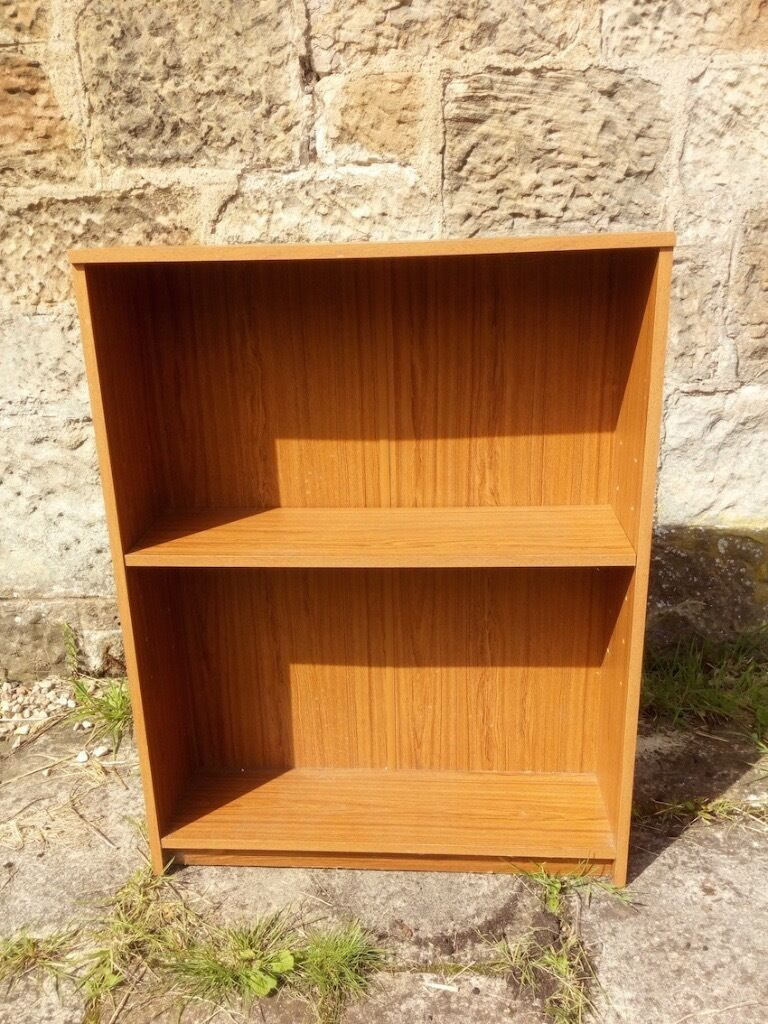 Melamine book case