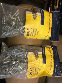 200 self drill Rawlplug plasterboard fixings 34mm