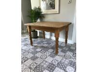Vintage Pine Kitchen/dining Table