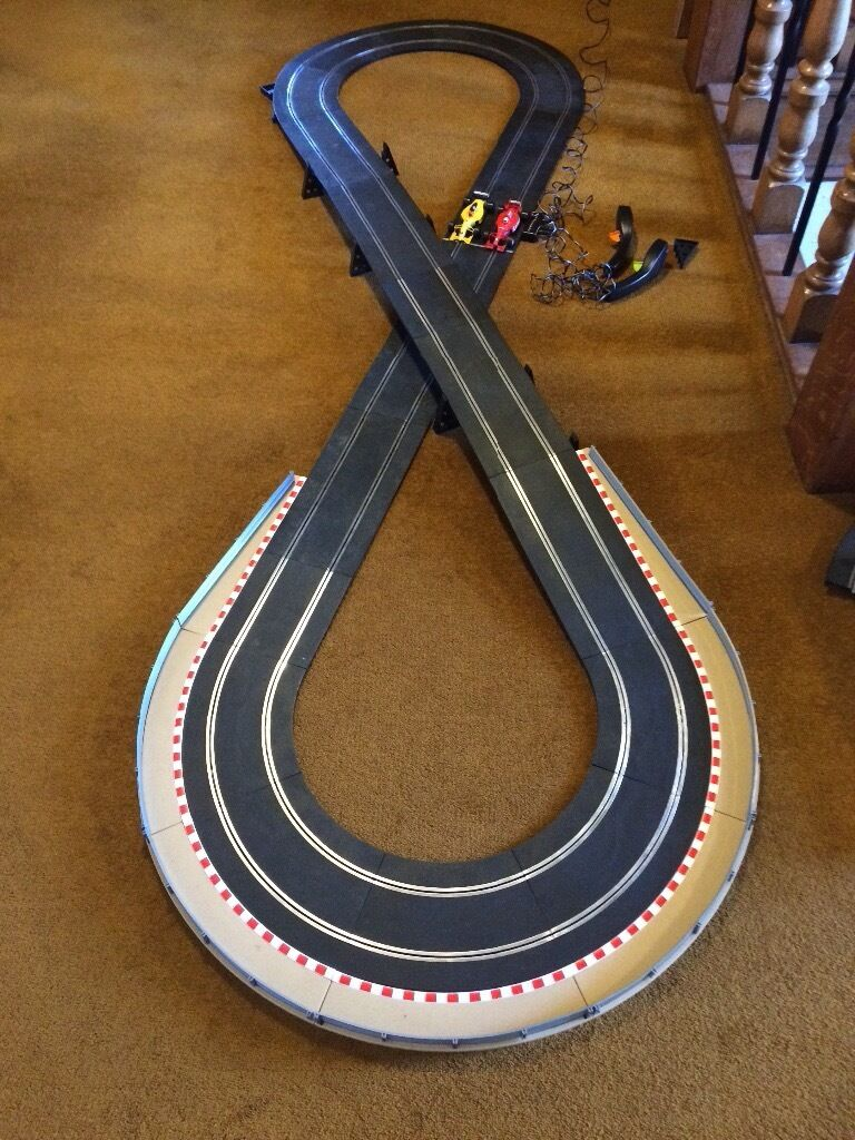 Scalextric Monaco set plus extension track in excellent condition - see photos