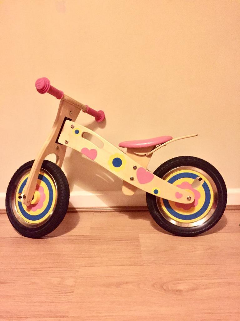 Girls Wooden Balance Bike In Lewes East Sussex Gumtree
