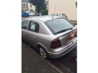 Silver Vauxhall Astra 1.6 petrol £650 ono. 102000 miles and runs very well. Great condition