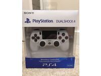 Official Sony Playstation 4 Dualshock 4 White V2 Controller NEW & SEALED PS4 Gamepad Latest Version