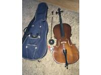 Centro Half cello music instrument