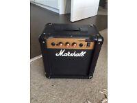 Marshall 10w practice guitar amp