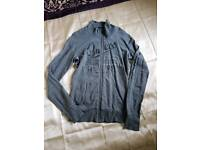 Guess zip up cardigan womens size M