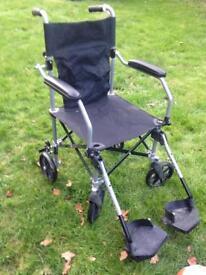 Travelite lightweight folding wheelchair