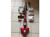 X5 Steam Mop Red with Attachments
