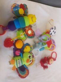 4 x Quality Cute Pram Toys
