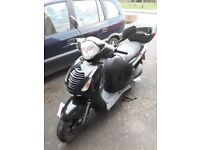 Honda PES 125 Scooter with Full Service History and Owners Manual