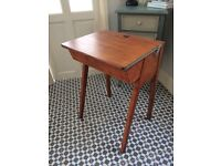 Traditional old school desk
