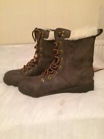Ladies new boots.