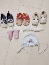 Baby shoes 0-3m