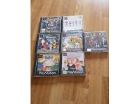 7 x PS1 Games - inc Dynasty Warriors, Rayman, Spice world, Micro Machines, Rugrats and more