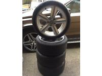 "Audi Alloys 18"" (fits most models, good tyres)"