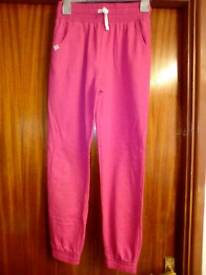 Girls jogging bottoms. Age 12