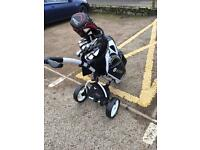 Full set off clubs have a look great set