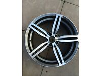 "BMW E60 M5 M6 20"" front genuine alloy wheel"