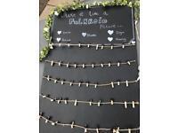 Wedding decoration Blackboards (various sizes)