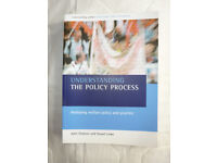 UNDERSTANDING THE POLICY PROCESS TEXTBOOK