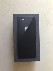 iPhone 8 Unlocked 64GB Space Grey 4 months apple warranty
