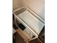 Ikea white basic trolley