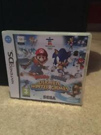 Used Mario & Sonic At The Olympic Winter Games Nintendo DS Game