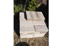 medium density concrete blocks