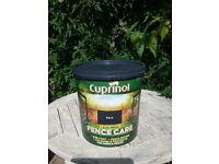 Cuprinol black fence paint 6 litres brand new