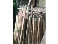 Pallet wood. 1.2 m x 75mm x45mm