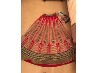 Wedding bridal Lengha (like new) will offer 25% discount